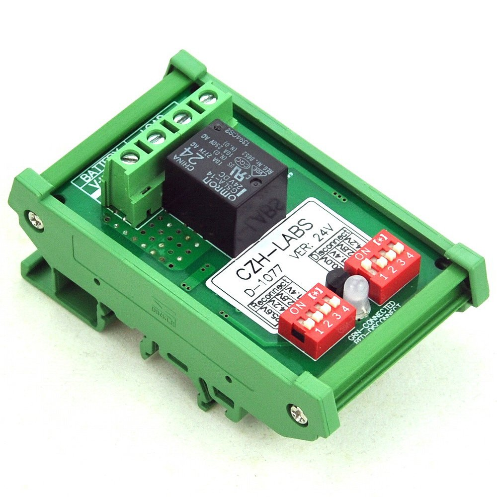24V 30A Automatic Low Voltage Disconnect Module LVD,Protect//Prolong Battery Life